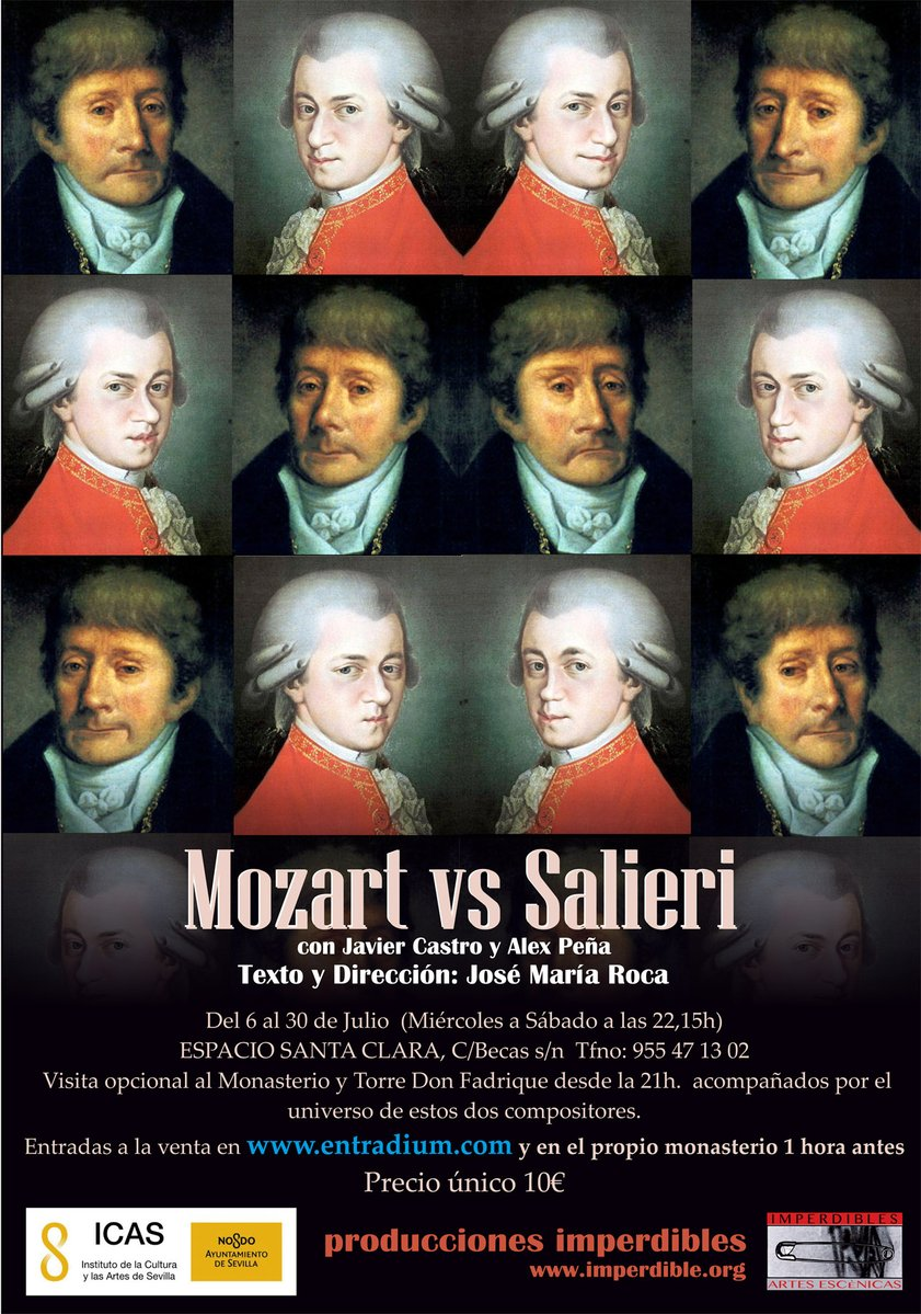 the competition between wolfgang mozart and rival antonio in the movie amadeus Peter shaffer's classic psychodrama about the murderous musical rivalry between mozart and salieri, 'amadeus,' returns for its first major london revival in almost 20 years.