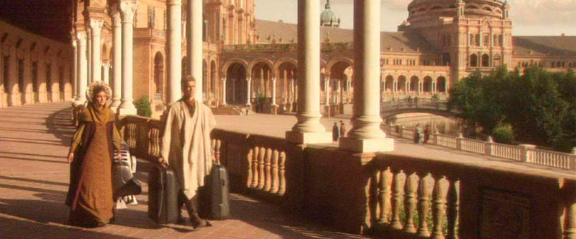 Cinematographic Sevilla: from Star Wars to Game of Thrones