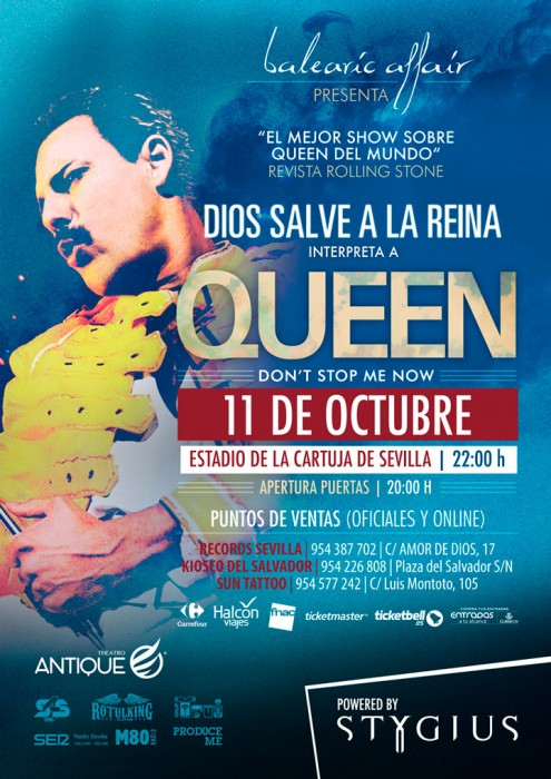 God Save the Queen- Tribute to Queen in Seville